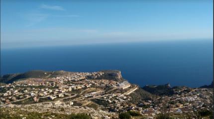 The view from Cumbres de Sol