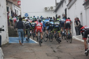 The climb through Magacela