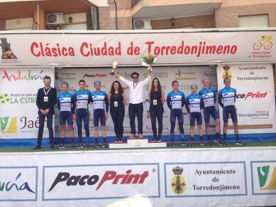 Escribano takes the team prize