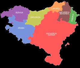 Euskal Herria - French/Spainish Basque country