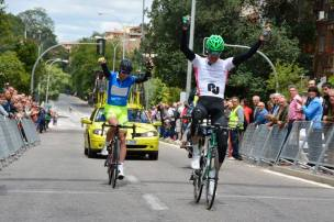 Mauricio wins the stage, Jacobus the overall