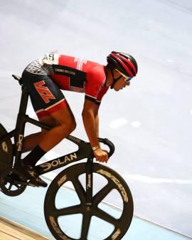 Santi racing at Lee Valley
